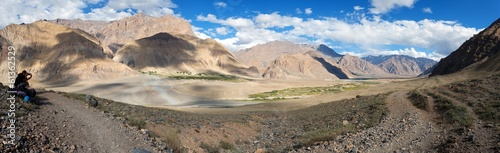View from Zanskar valley - Zangla village