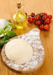 Ingredienti per pizza