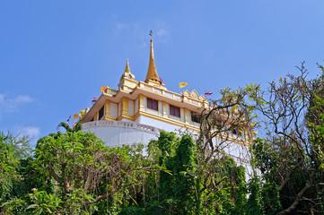 Phu Khao Thong (Golden mountain) and Wat Saket