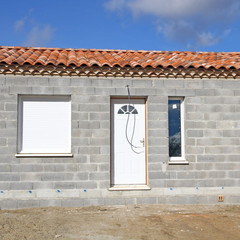 Ma maison en construction