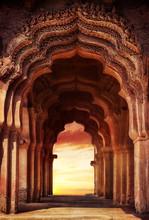 Vieux temple en Inde