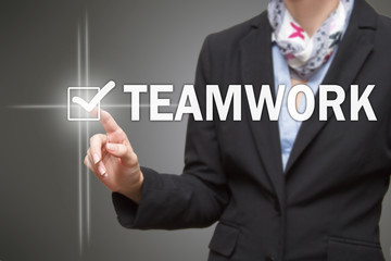 Businesswoman - Teamwork