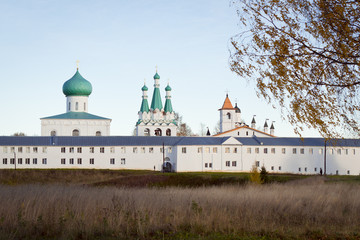 The Holy Trinity Alexander Svirsky monastery in Leningrad region