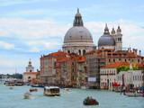 Venecia: Gran Canal y Basílica de Santa María de la Salud