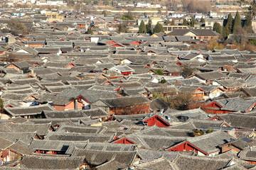 世界遺産麗江の市街