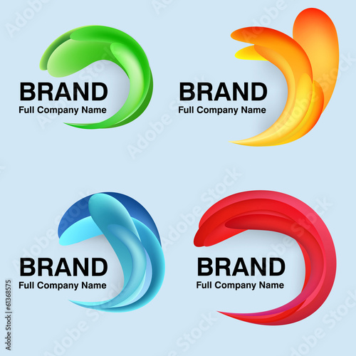Unusual modern logo design