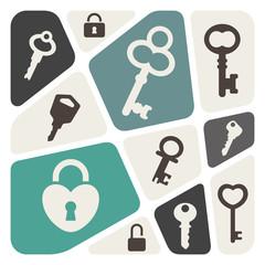 Key background