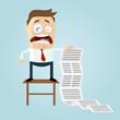 business mann rechnung teuer liste