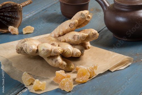 candied ginger
