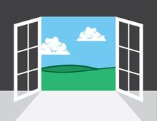 Ouvrir la fenêtre ou de la porte menant à l'extérieur