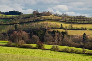 Rural landscape nature