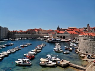 Harbour in Dubrovnik