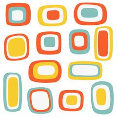 Colorful rectangular pattern