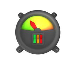 VU Meter - Schalter
