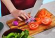 íuman hands cooking