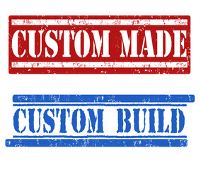 Custom made and custom build stamps