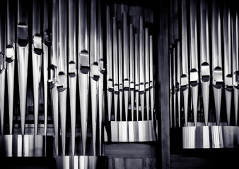 Organ pipes set