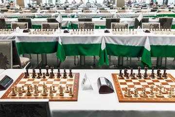 Starting chess tournament