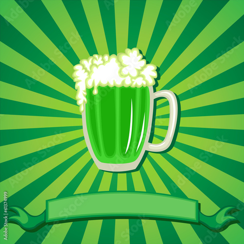 Greeting card of St. Patrick's Day