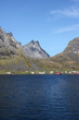 the very end of  Reinefjord
