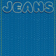 Jeans Vector Background. Ready for Text and Design