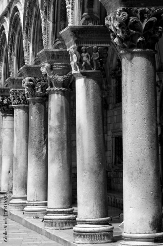 Dubrovnik Pillars of the Palace