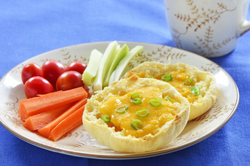 Grilled cheese English Muffin