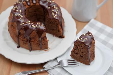 Schokoladen Napfkuchen