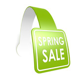 Spring sale hang label