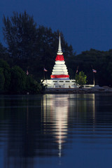 Stupa twilight
