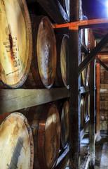 Bourbon warehouse