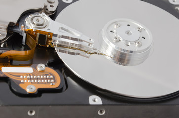 Parsed hard disk drive