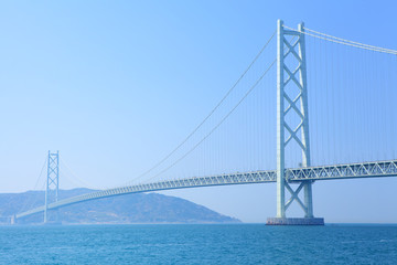 Suspension bridge in Kobe