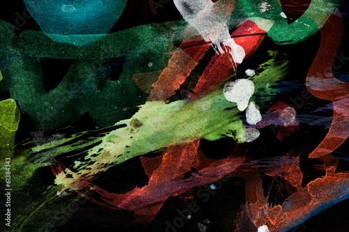 abstract watercolor like background © schankz