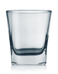 Glass with a square bottom