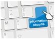 clavier information sécurité