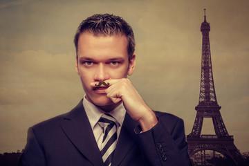 man in paris
