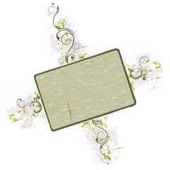 gringe floral frame