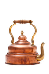 Nostalgischer Teekessel aus Kupfer