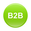 bouton internet B2B icon green sign