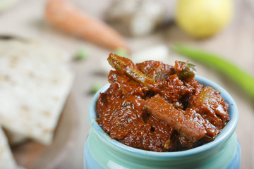 Mixed Vegetable Pickle - An Indian Pickle made of Mixed Vegetabl