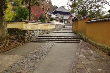 LANE into the temple 路地と二月堂