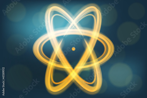Single atom illustration