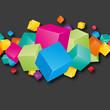 cube couleur 3d