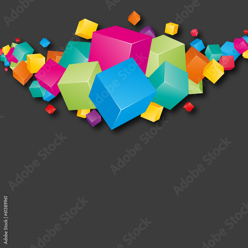 cube-boite couleur
