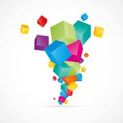 boite-cube 3d