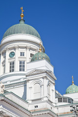 Helsinki Cathedral. Domes