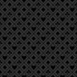 Fond symboles jeu de cartes en noir