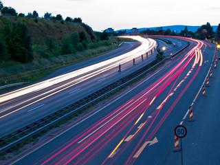 Autobahn lights