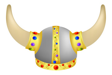 Viking Helm with gems